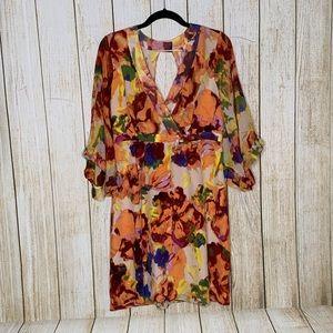 Anthropologie Dresses - Maeve Deloria Printed Silk Dress